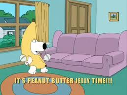 Peanut Butter Jelly Meme - family guy peanut butter jelly time on make a gif