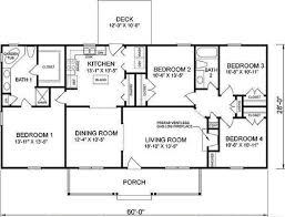 ranch floor plans 4 bedroom house plans ranch house cookwithalocal home and space