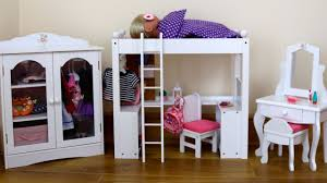 Double Deck Bed Designs Pink Baby Dolls Double Bunk Bed Desk Closet U0026 Dressing Table Baby