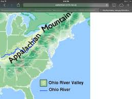 Ohio River Valley Map Abc American Revolution By Bri Zim