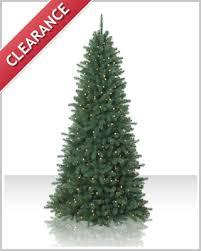 9 ft emerald fir clear lit tree tree market