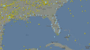 Florida Radar Weather Map by Eerie Radar Image Shows No Planes Over Florida As Hurricane Irma