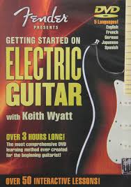amazon com fender presents getting started on electric guitar