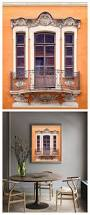 Oversized Wall Art by Orange Wall Art Photography Window Poster Architectural Print