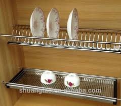 Best Organizers And Dish Drainers Images On Pinterest Dish - Kitchen cabinet plate organizers