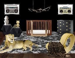 kim kanye baby boy celebrity homes celebrity nurseries glamour