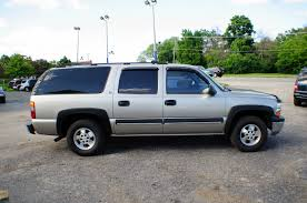 2001 chevrolet suburban ls pewter 4x4 tow suv