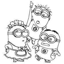 top 35 u0027despicable me 2 u0027 coloring pages for your naughty kids