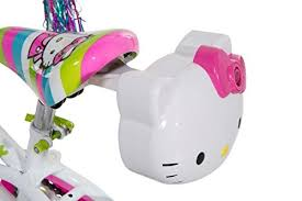 dynacraft 8007 97ztj girls kitty bike white green pink 12