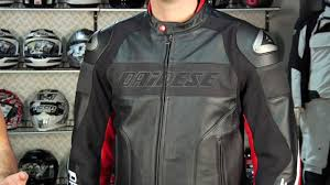 perforated leather motorcycle jacket dainese alien leather jacket review at revzilla com youtube