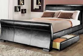 Double King Size Bed Beds Beds Company Cheap Beds Double King Size Faux Leather