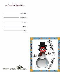 Printable Halloween Invites Halloween Card Printables U2013 Festival Collections