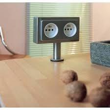 multiprise d angle pour cuisine prises et multiprise électrique pour la cuisine accessoires de