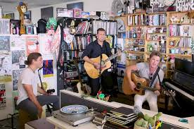 Desk Pop The Other Guys Hanson U0027s U0027tiny Desk U0027 Concert Brother Trio Celebrates 25 Year