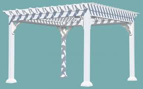 Span Tables For Pergolas by Vinyl Pergolas Lykens Valley Gazebos And Outdoor Living Products