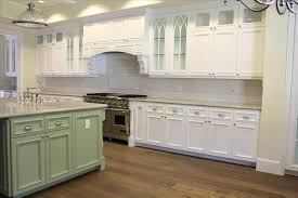 Stone Kitchen Backsplash Pictures White Cabinets To Buy Tile Cabinet Glacier Granite Counters