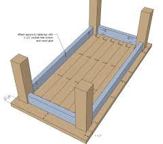 simple side table plans coffee table design plans lewtonsite