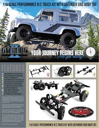 rc4wd gelande ii truck kit w defender d90 body set