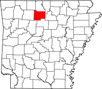 us map searcy arkansas searcy county arkansas