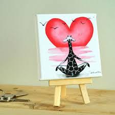 imagenes de amistad jirafas cuadros decorativos para habitaciones infantiles