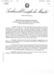 convocazione consiglio dei ministri pontinia ecologia e territorio presidenza consiglio ministri