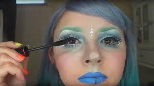 periwinkle space princess makeup tutorial youtube