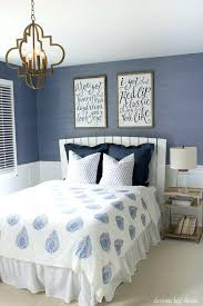blue and white bedroom idea classic blue white fabric blue and