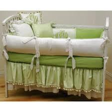 Crib Bedding Green Taffy Crib Bedding
