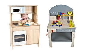 cuisine enfants en bois cuisine et établi en bois groupon shopping