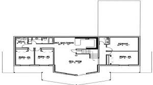 bedroom house plans with basement modern 5 bedroom house plans 4
