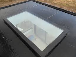 flat roof light flat roof skylights residential calgary flat