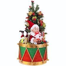 raz imports 18 drum with santa supply collection raz3715507