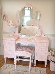 Shabby Chic Vanities by Beautiful Antique Vanity With Mirror And Bench Simply Pink