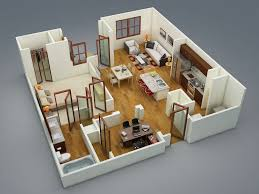 cool apartment floor plans cool white bed seat one bedroom apartment floor plans 3d stainless