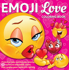 coloring books for teens emoji love coloring book 48 pages for adults teens and kids
