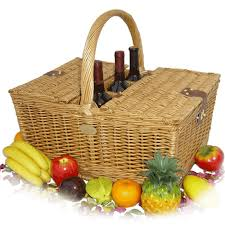 wine picnic baskets sutherland crown picnic basket for 4 wine cheese