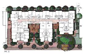 Apartment Building Floor Plans by Channing Bowditch Apartments Housing