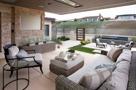 courtyard designs and outdoor living spaces modern hardscape porch contemporary with ottoman tray patio