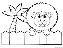 impressive astounding baby lion coloring pages print zoo free kids