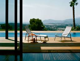 alize adjustable stacking deck chair fermob horne