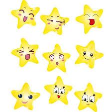 newly design emoji star wall sticker home decor sep1 home decor