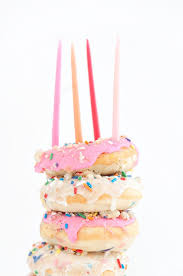 birthday cake doughnuts recipe best birthday cakes and donuts