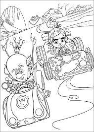 kids fun 40 coloring pages wreck ralph