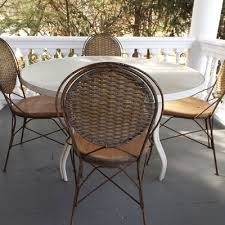 Vintage Bistro Table And Chairs Vintage Chairs Antique Chairs And Retro Chairs Auction In East
