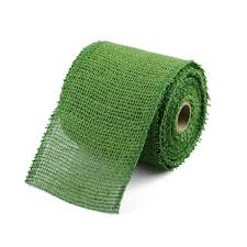 burlap ribbon find green jute ribbon 2 5 inch wide x 10 yards online