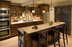 kitchen design styles rustic craftsman kitchens arts crafts design copper canyon