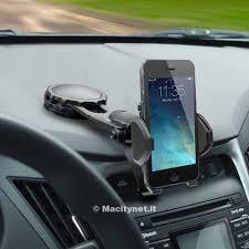 porta iphone per auto macally dmount il supporto per smartphone in auto che non blocca