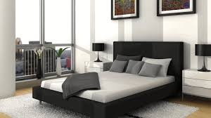 black white and grey bedroom white black dot theme furniture