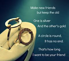 friendship rings meaning friendship quotes circle rings symbol jewelry gifts