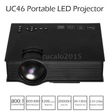 smart home theater projector uc46 wifi full hd 1080p led video projector home theater sd tv usb